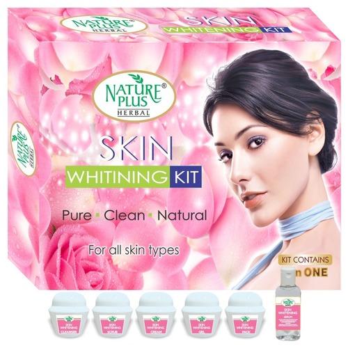 Nature Plus Herbal Skin Whitening Facial Kit, 370gm