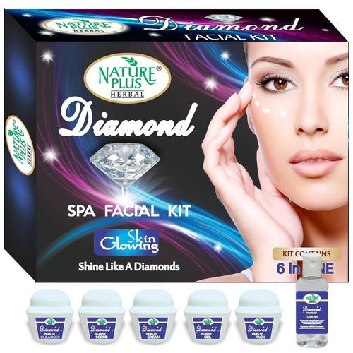 Nature Plus Herbal Diamond Spa Facial Kit, 370gm