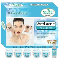 Nature Plus Herbal Anti-acne Facial Kit, 370gm
