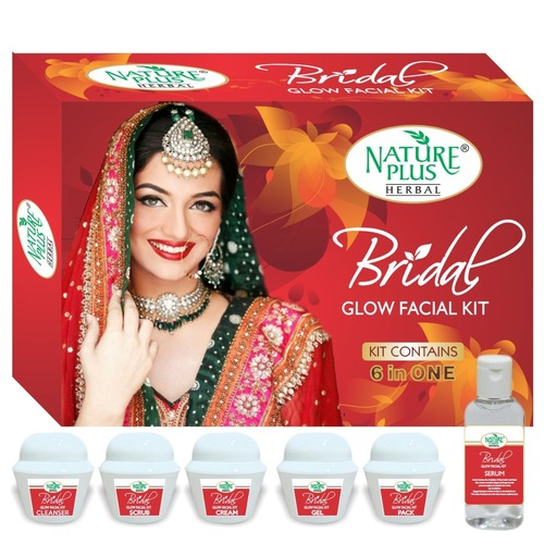 Nature Plus Herbal Bridal Glow Facial Kit, 370gm