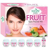 NATURE PLUS HERBAL FRUIT SPA FACIAL KIT, 370gm