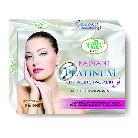 Platinum Anti Aging Facial Kit