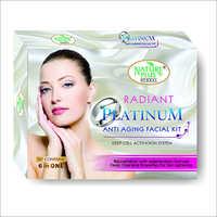Platinum Anti Aging Facial Kit