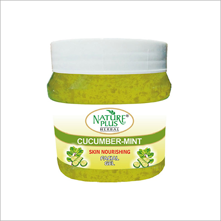 Nature Plus Herbal Cucumber Mint Facial Gel, 1000gm