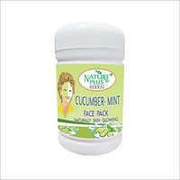 Nature Plus Herbal Cucumber Mint Face Pack, 1000gm