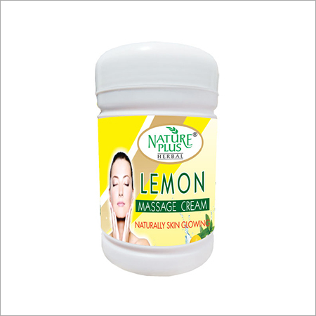 Nature Plus Herbal Lemon Massage Cream, 1000gm