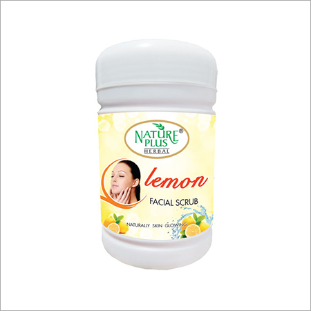 NATURE PLUS HERBAL LEMON FACIAL SCRUB, 1000gm
