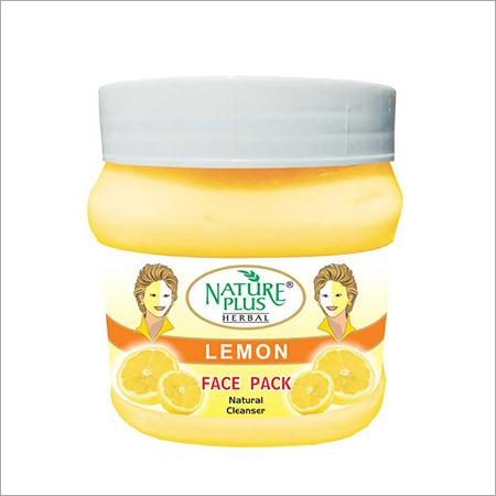 NATURE PLUS HERBAL Lemon Face Pack, 1000gm