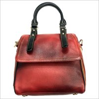 Ladies Brown Leather Bag