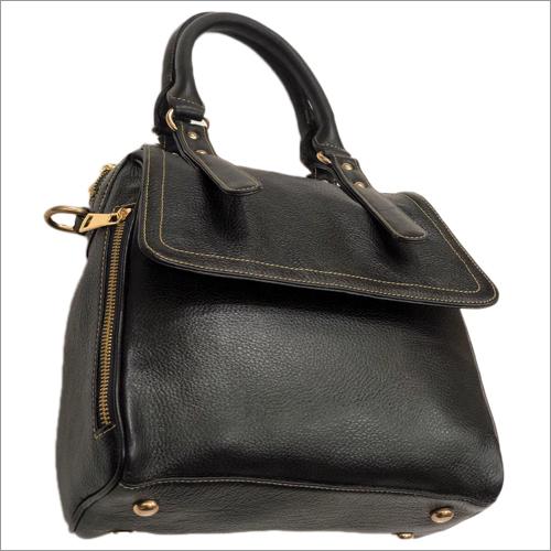 Ladies Black Leather Bag