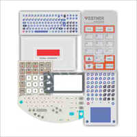 Printed Touch Screen Membrane Keyboard,