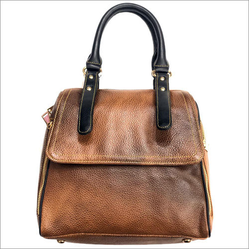 Ladies Stylish Brown Bag