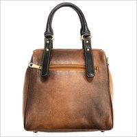 Ladies Genuine Brown Leather Bag