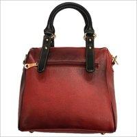 Ladies Leather Zipper Hand Bag