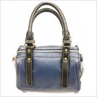 Ladies Blue Leather Bag