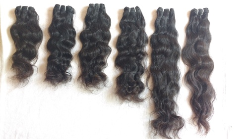 Wavy Indian Machine Weft Hair