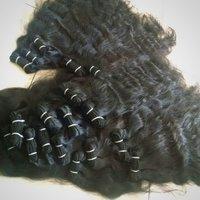 Wavy Indian Machine Weft Hair