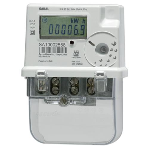 Saral Single Phase Energy Meter