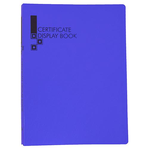 Certificate Display Book