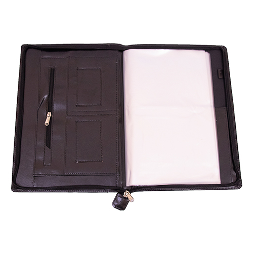 Zip Pocket File Folder