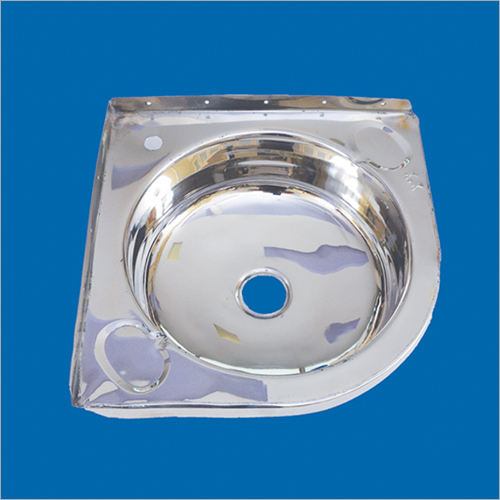 Stainless Steel Corner Basin Sink