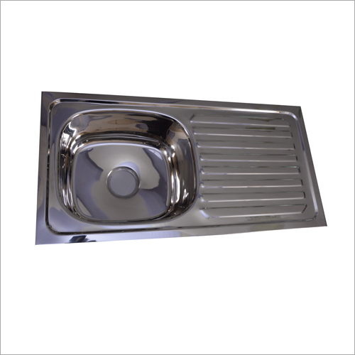 Stainless Steel Single Bowl Single Drain