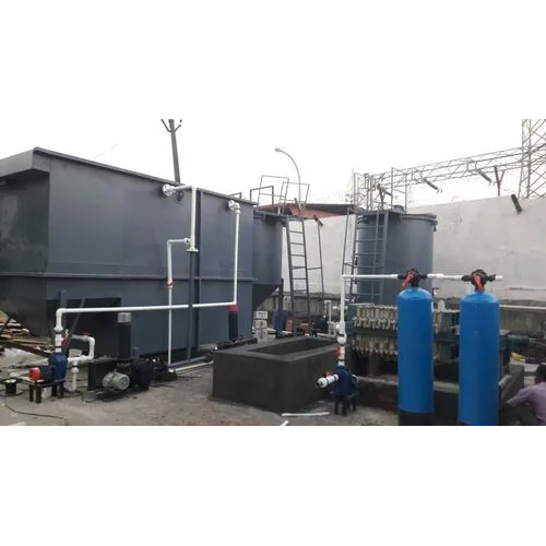under ground packaged sewage treatment plant