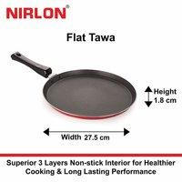 Nirlon Non Stick Flat Tawa 275mm