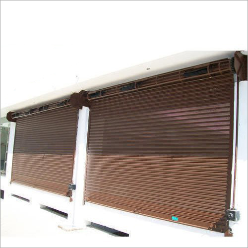 Mild Steel Mechanical Rolling Shutters