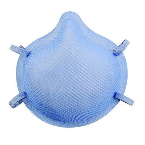 Moldex N95 Cup Elastic Strap Small Blue Non Sterile Surgical Face Mask