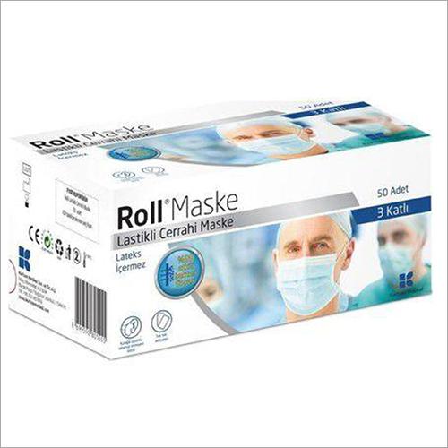 Non Woven PP 3 Ply Face Mask