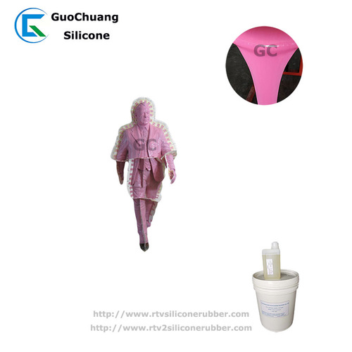 rtv2 liquid silicone rubber for concrete sculpture mold making