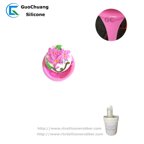 platinum cure silicone rubber for hand soap candle molds making