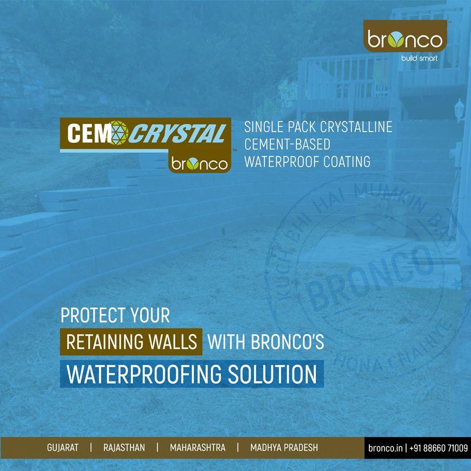 Crystalline Waterproof Coating
