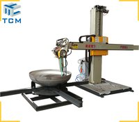Steel dish head surface grinding machine
