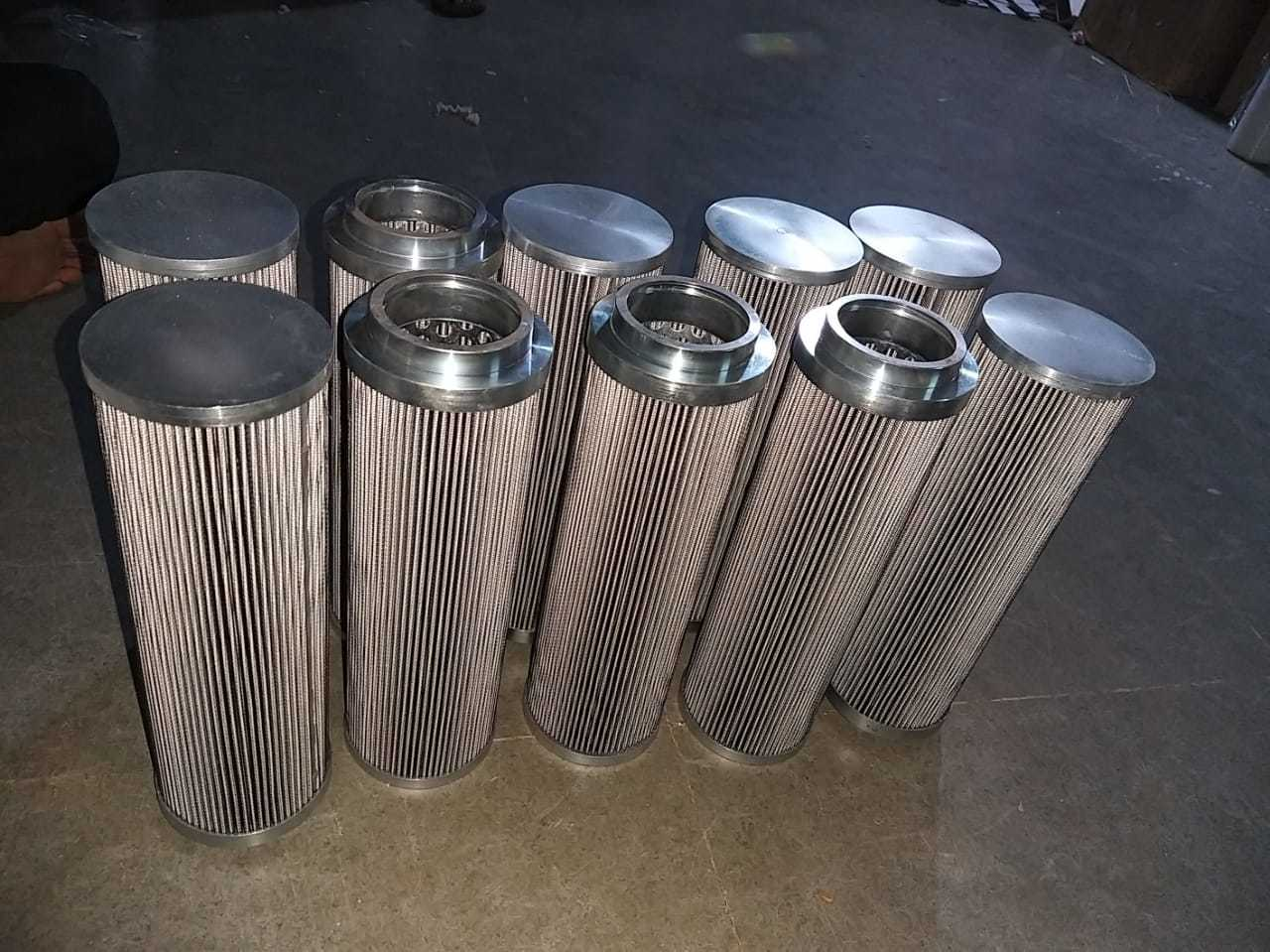 SS Fiber Glass Filter