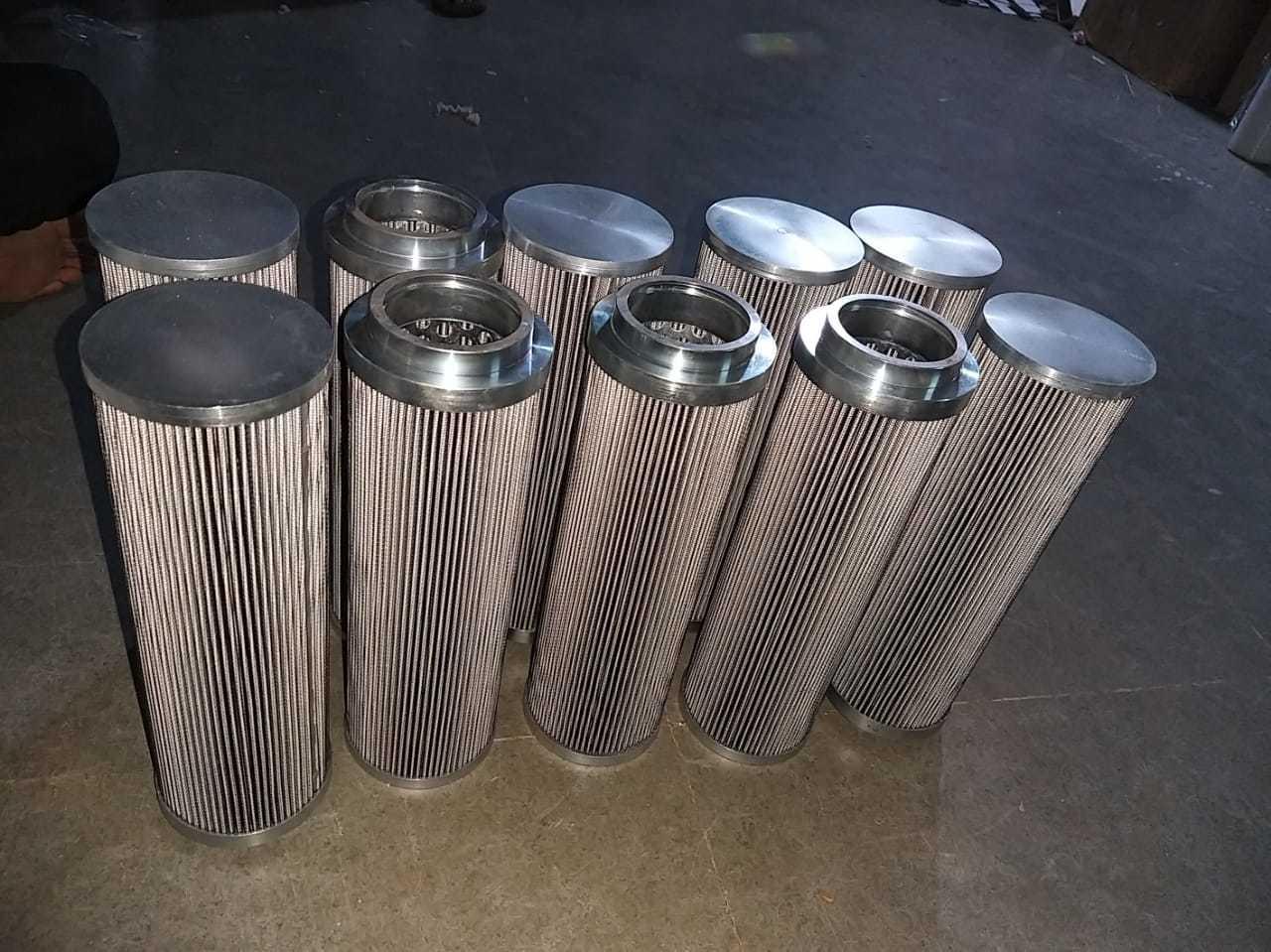 SS Fiber Glass Filter