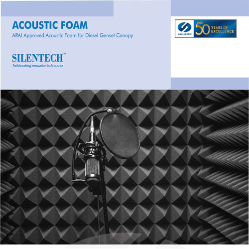 Acoustic Foam, Sound Absorption Foam