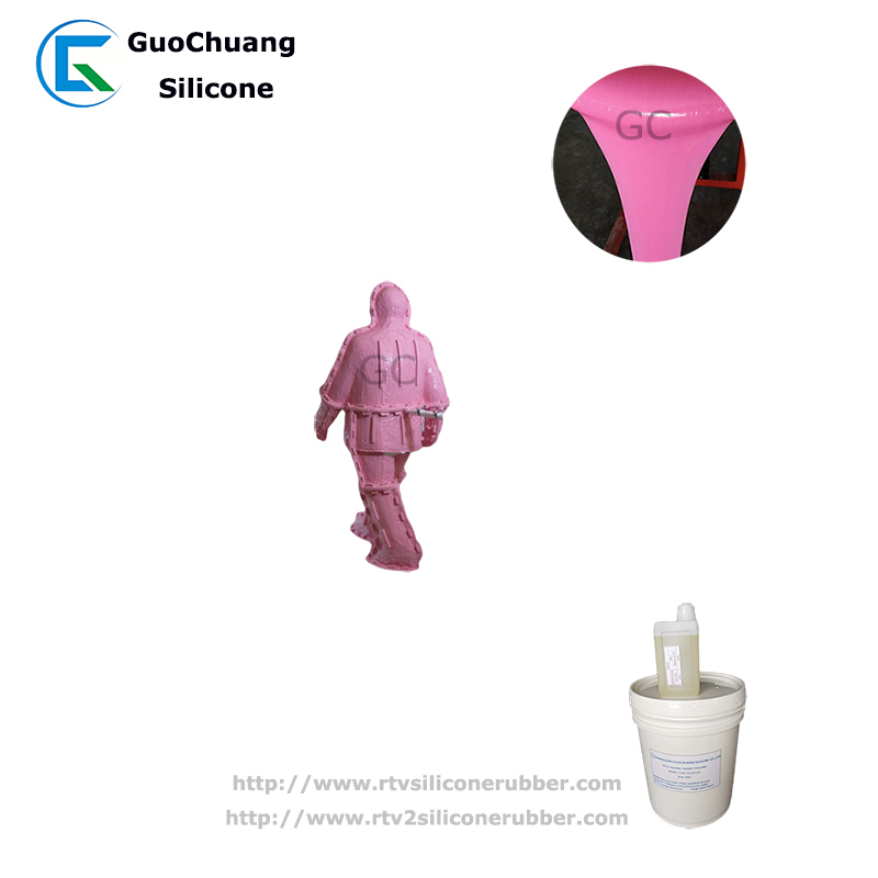 mold making liquid silicone rubber for concrete gypsum sculpture craft molds making