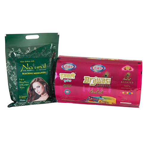 Mehendi Packaging Pouches