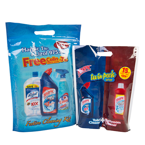 Home Cleaning Packaging Pouch