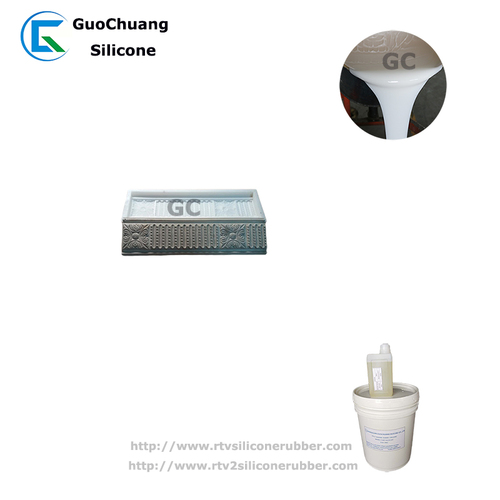 liquid silicone rubber for gypsum plaster decorative molds making