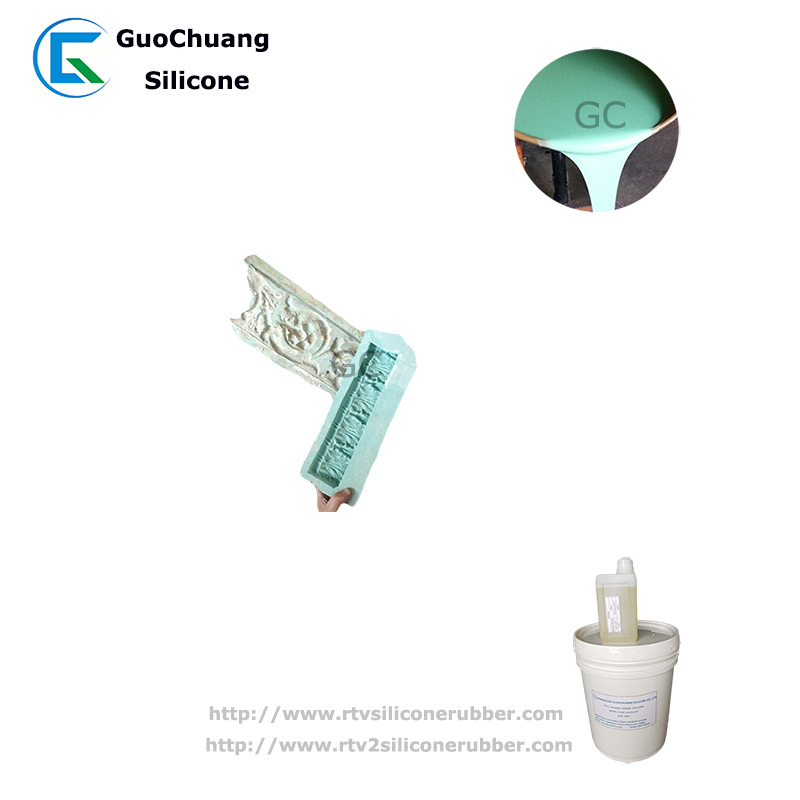 liquid silicone rubber for gypsum plaster decorative molds making