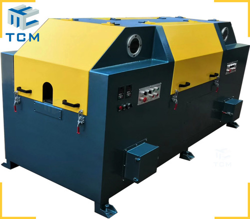 Steel wire rod surface grinding machine