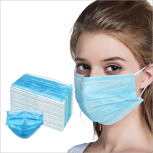 Earloop 3 Ply Surgical Face Mask
