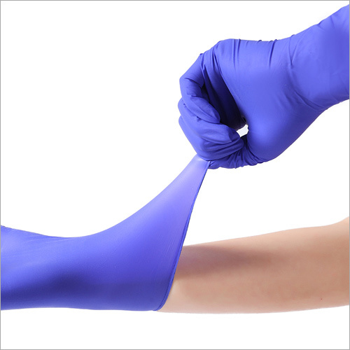 Disposable Nitrile Surgical Gloves