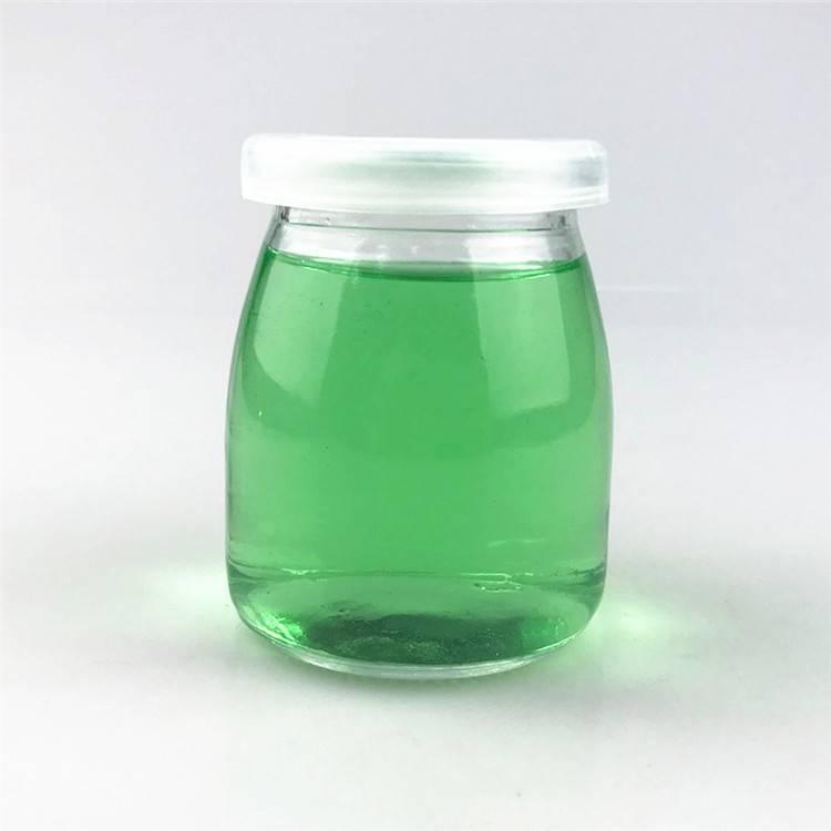 200ml Crown Milk Pudding Packing Glass Bottle For Milk glass Bottle