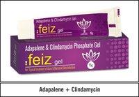 Adapalene  0.1 % w/w + Clindamycin 1.00 % w/w