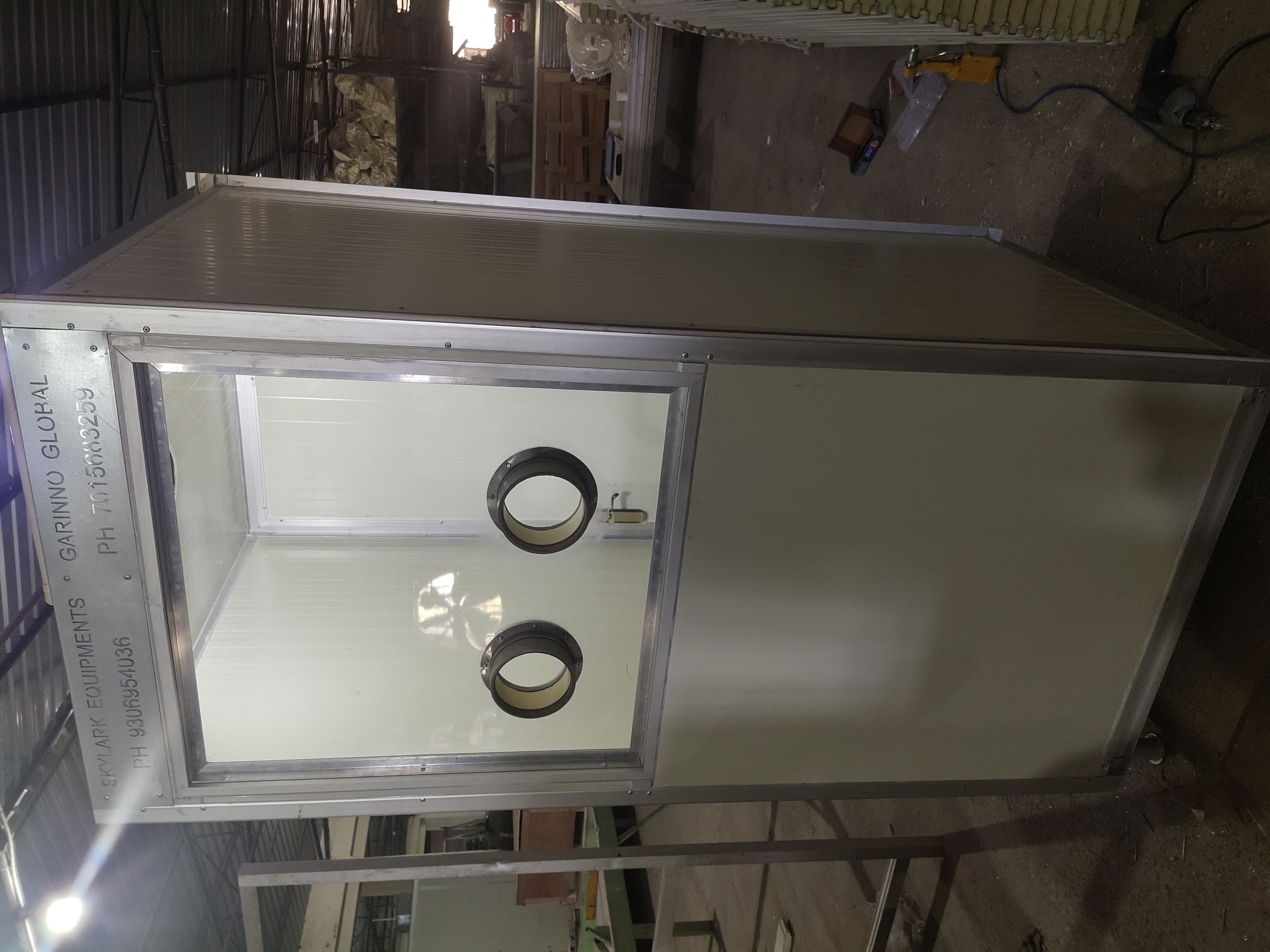 Testing Chamber with Positive Pressure