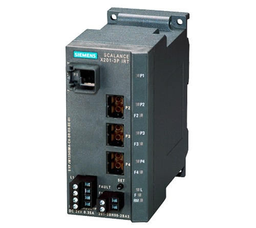 Siemens 6GK5204-0BA00-2BA3 SCALANCE X204IRT, managed IE IRT switch